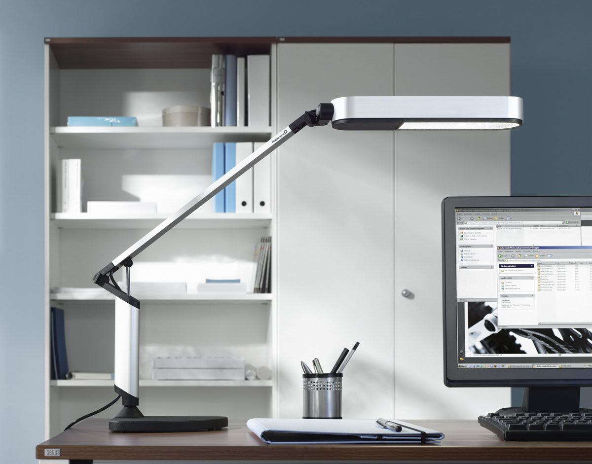 Connect An Office Desk Lamp To The Clamp With Images Desk Lamp