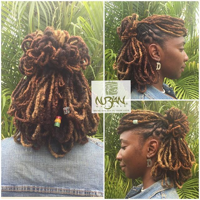 Omg This Is Such A Beautiful Style Can T Wait Til I Can Do This Hair Styles Dreadlock Hairstyles Locs Hairstyles