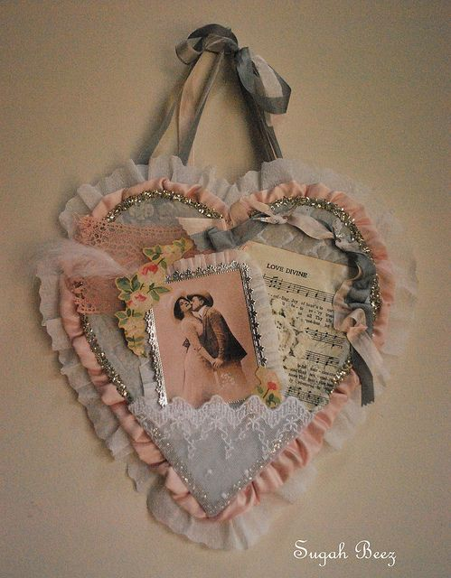 Valentine wall hanging