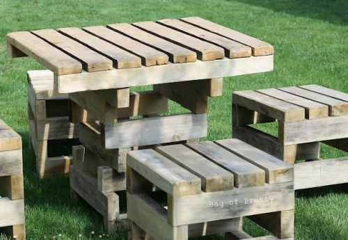 Pallet Furniture Ideas | If you know of any pallet furniture projects that you'd like to ...