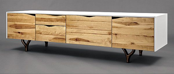 Rustic Modern Credenza Reader S Gallery Fine Woodworking Nyc Furniture Furniture Furniture Inspiration