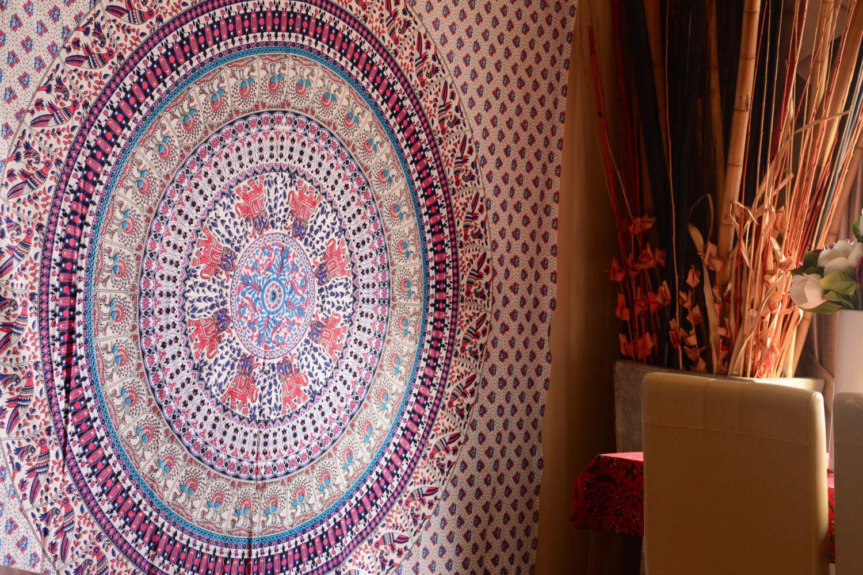 Elephant Mandala Tapestry mandala throw indian tapeatry