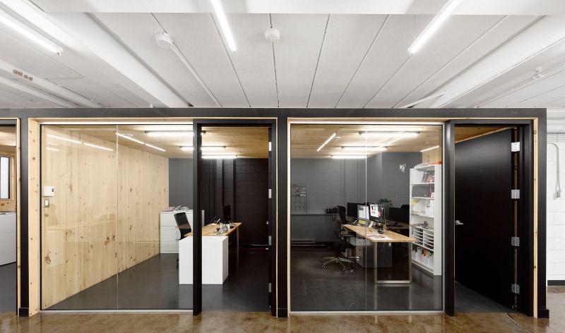 Rénovation des bureaux de lagence masse agence créative de québec