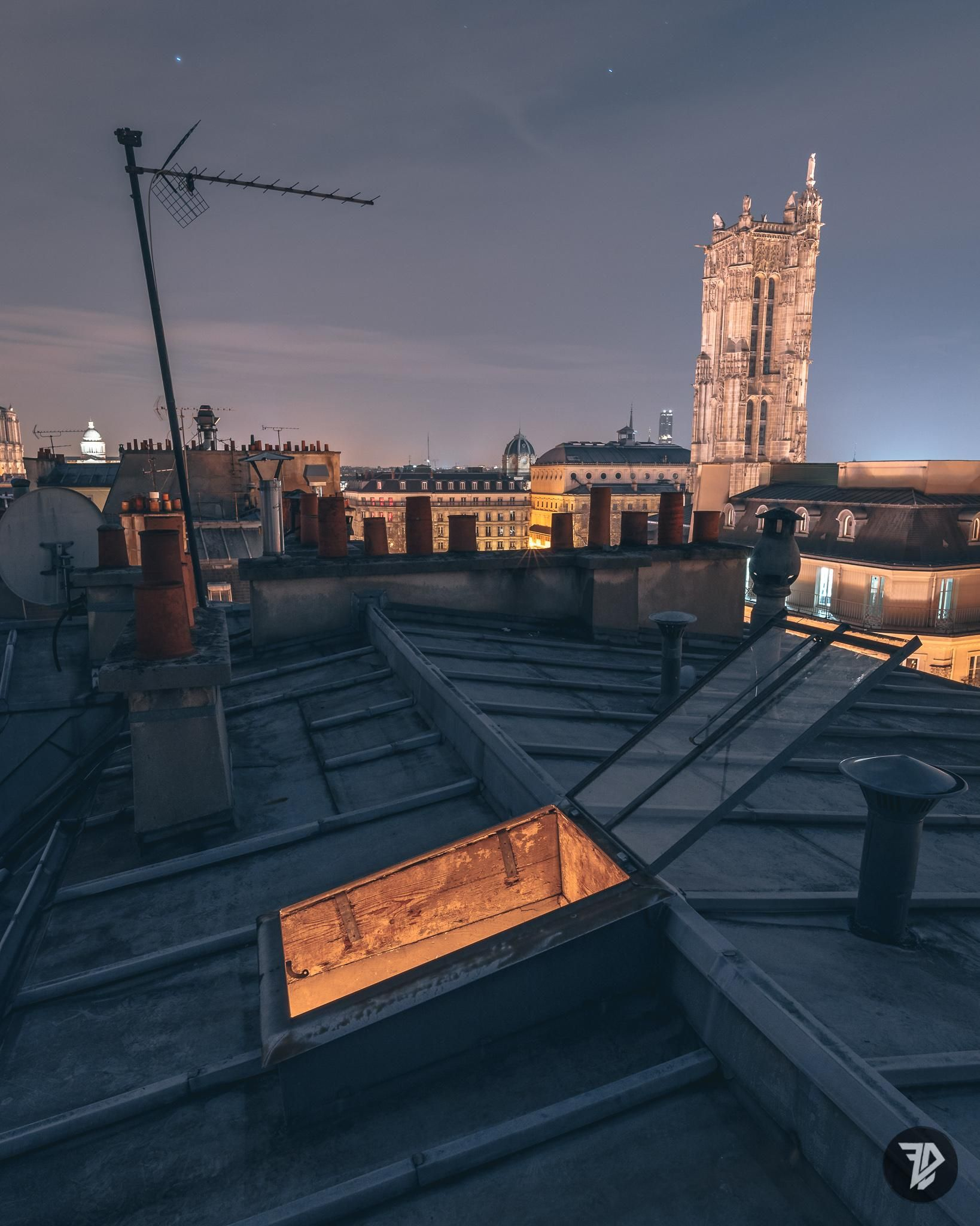 Paris Cliche Nightscape From A Roof Oc 1638x2048 City Aesthetic Night Aesthetic Paris At Night