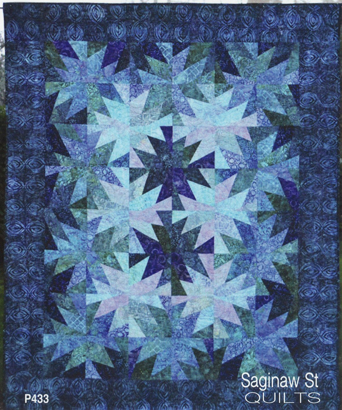 Photo of Rip Tide quilt sewing pattern from Saginaw St Quilts – Quilt Patterns – Quilting Ideas