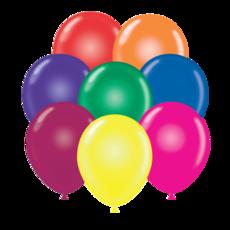 "24"" Crystal Tuf Tex Latex Balloons - Assorted colors"