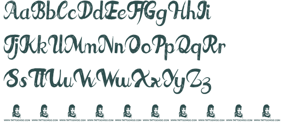 Fat Tats font download free (truetype)