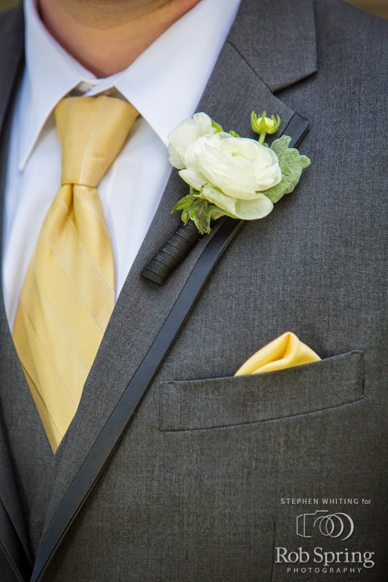 Lake George Wedding Flowers Boutonniere Top Of The World Golf