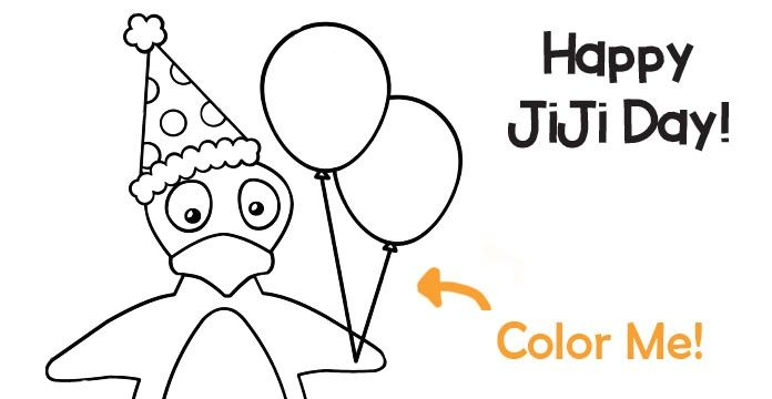 Celebrate Math On Jiji Day Coloring Page Printable Math