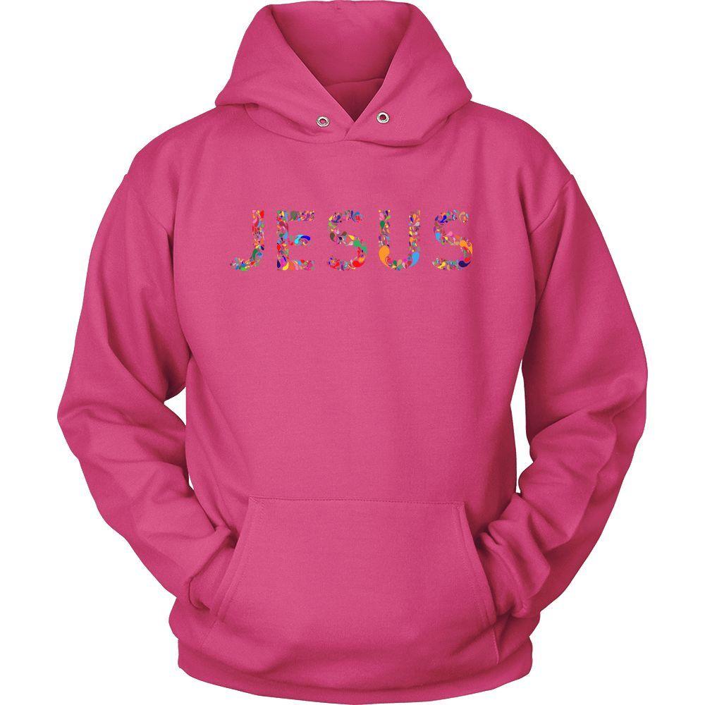Colorful Jesus Hoodie Sweatshirt (12 colors) | Products