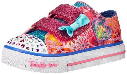 venta outlet nueva selección diseño innovador Amazon.com | Los dedos del pie del centelleo Skechers Kids ...