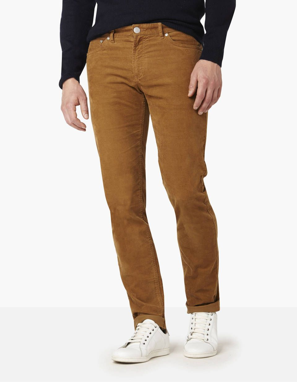 Pantalon coupe slim velours coton majoritaire   Celio, Slim et Velours 943a32a926b