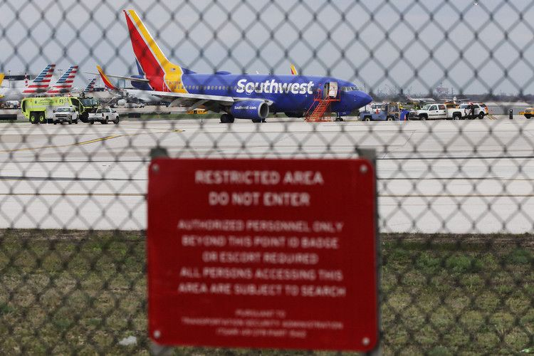 Metal Weakness in Southwest Jet Tests Limits of Safety