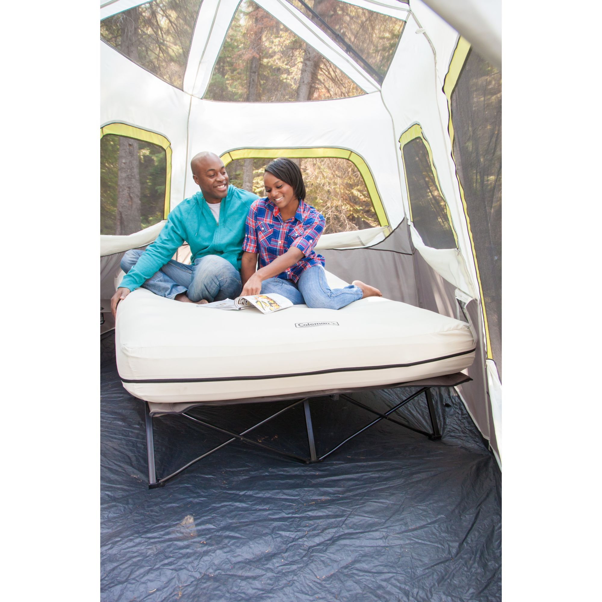 Airbed Cot Queen Camping cot, Tent cot, Bed