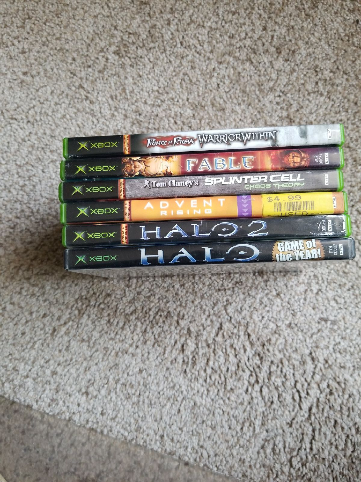 Check out my 6 Assorted Xbox Games With Manuals! This is