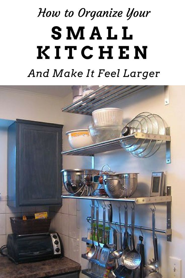 How To Organize A Small Kitchen Apartment