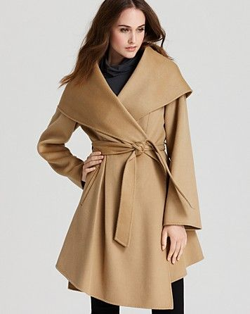 Dawn Levy Piper Wrap Coat - Coats & Jackets - Apparel - Women's - Bloomingdale's - Want to find something less expensive, love this look though..  $895