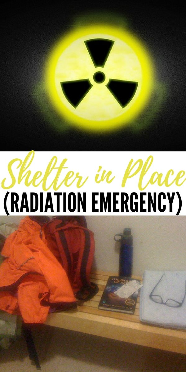 How to Shelter in Place after a Radiation Emergency