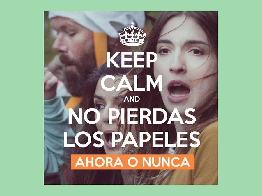 No pierdas los papeles como María Valverde en Ahora o Nunca, comedia en la que comparte cartel con Dani Rovira