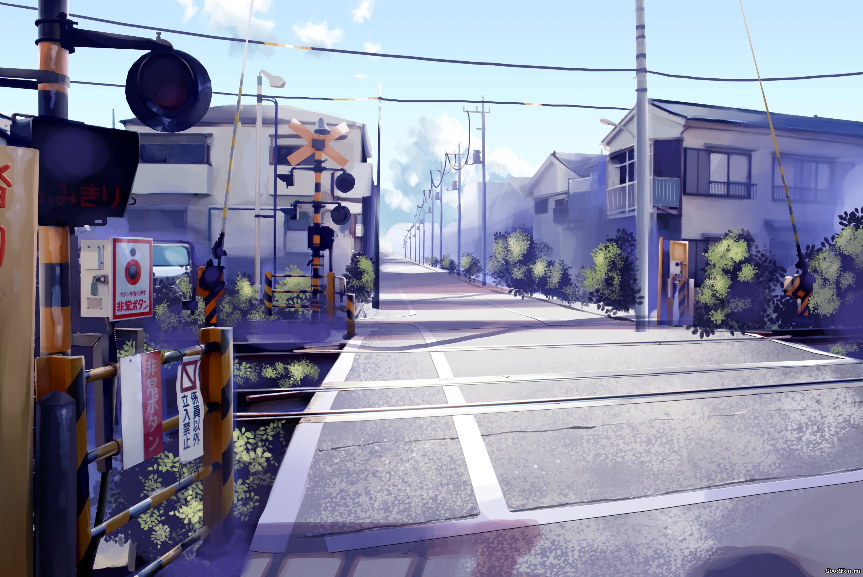 14 wallpaper anime city