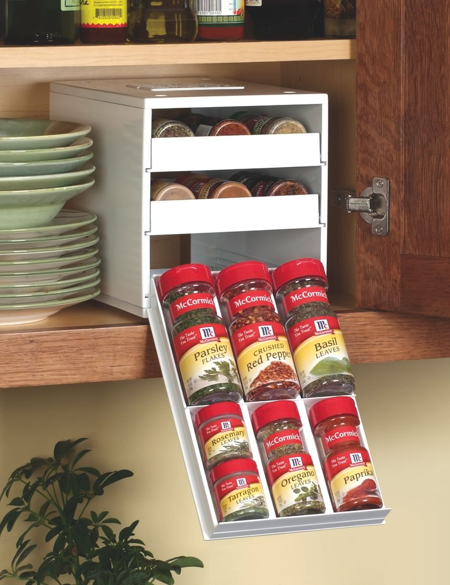 Cheap Plastic But Works And The Price Is Right Kitchen And - Plastic spice racks for kitchen cabinets