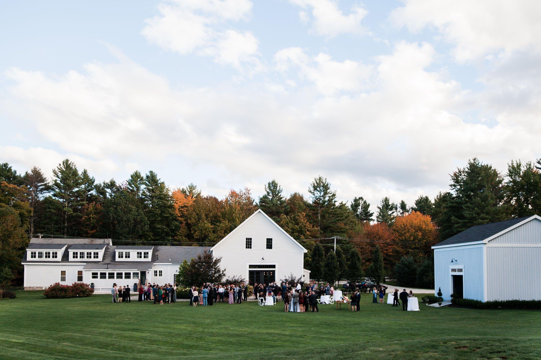 The Barn at Flanagan Farm, Buxton Maine | Maine wedding ...