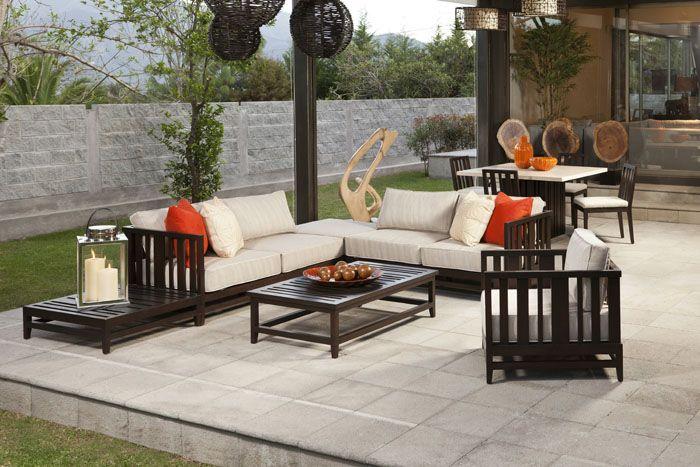 Adriana Hoyos Showroom Outdoor Livingspace Modernfurniture Hoyos Outdoor Furniture Sets Living Spaces Modern Furniture