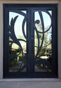Modern Wrought Iron Doors Google Search Hallways