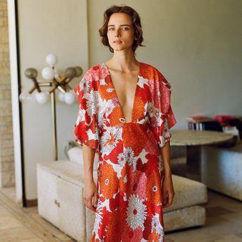 Balloon raw-edged linen-blend midi dress | Vivienne Westwood Anglomania | MATCHESFASHION US