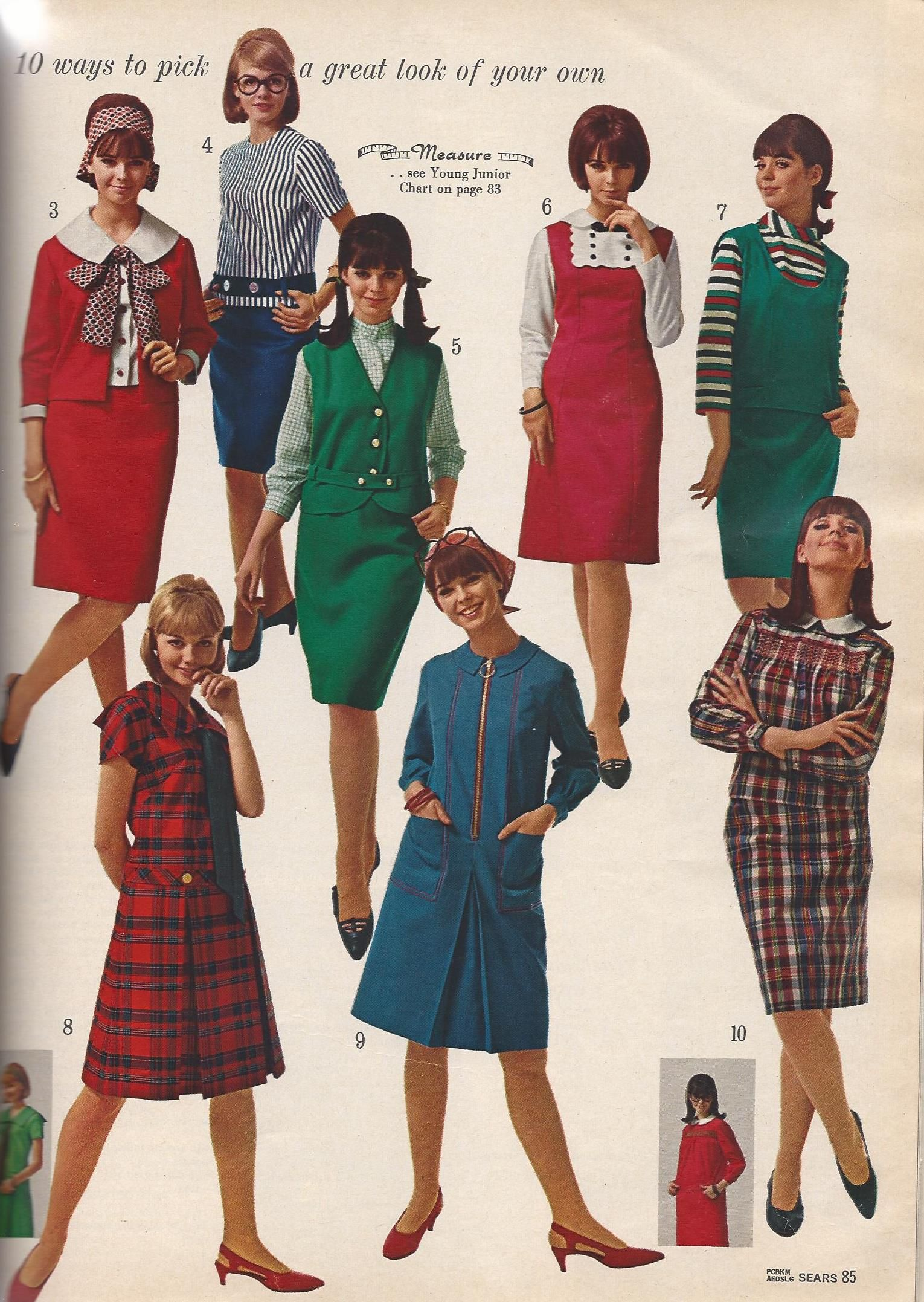Vintage Clothes A Peek Back At 1965 Fashions Plus