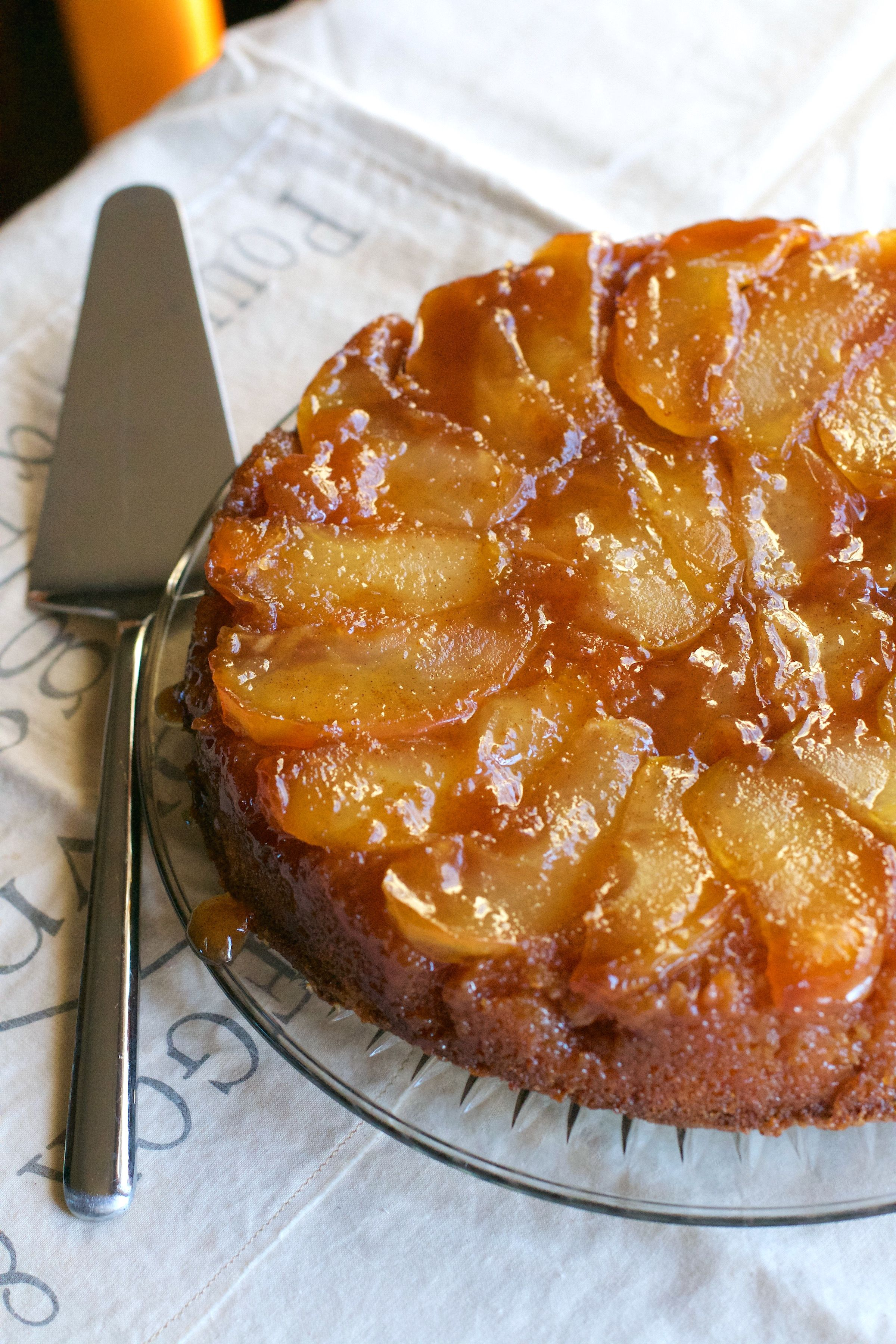 French Apple Cake 1