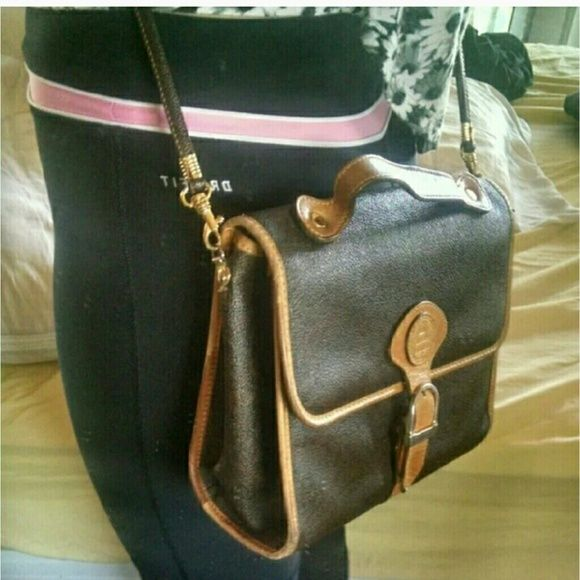 Pierre Balmain Vintage Vinyl Cross Body Bag Rox 8 X 10 7 Strap Over 40 Printed Design Inside In Perfect Condition Almost