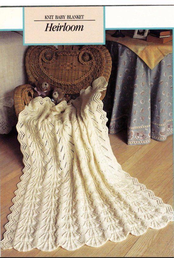 Vintage Baby - Baby Blanket Pattern - Baby Shower Gift ...