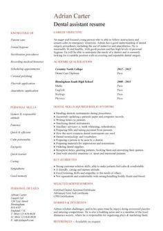 Resume Examples For College Students With No Work Experience Unique Dental Student Resume  Httpwww.resumecareerdentalstudent .