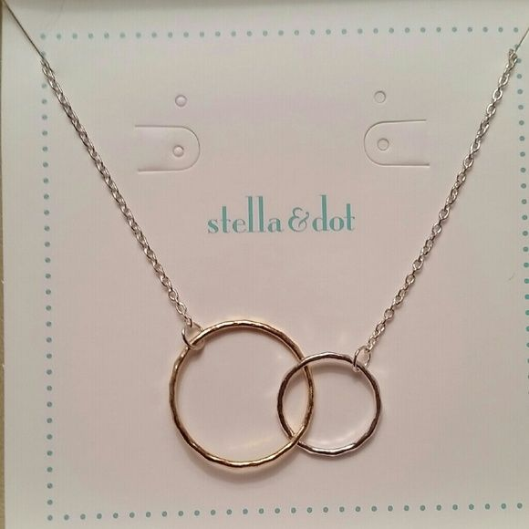 ab83fb8afc64e Stella & Dot Together Forever Circle Necklace This 18 inch necklace ...