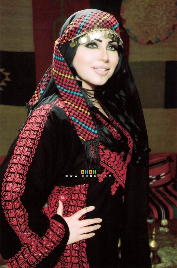 traditional jordanian dress arab middle eastern
