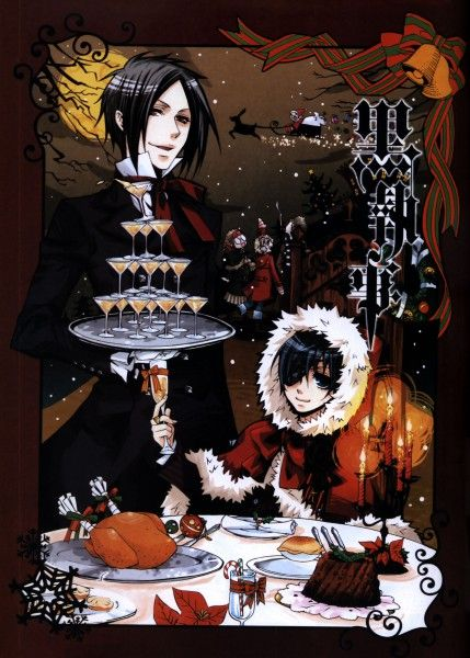 Merry Christmas, from a demonic butler and a spoiled child.~