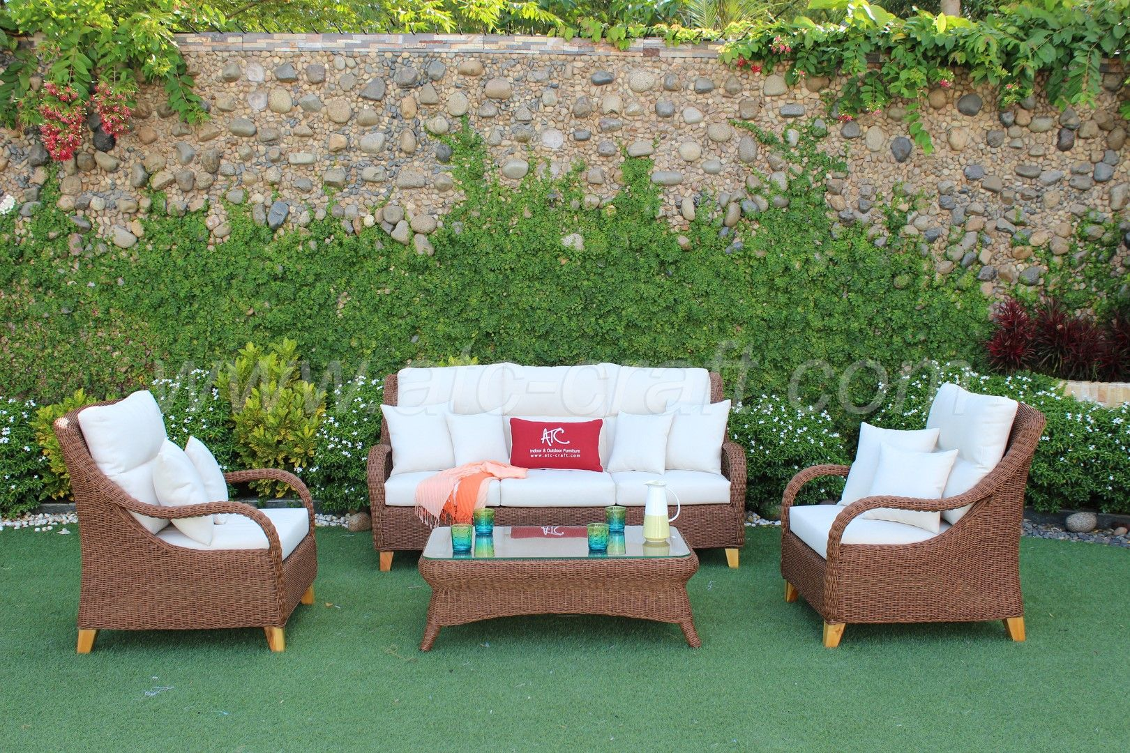 New Collection Of Outdoor Funiture Sofa Sets Made By Atc Furniture Manufacturer Wicker Furniture Furniture Hyacinth Furniture