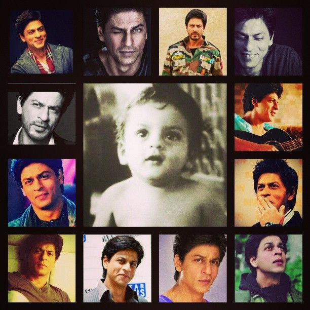 SRK - then and now