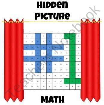 Hidden Picture Math Algebra Expressions Worksheets Find Lots Of