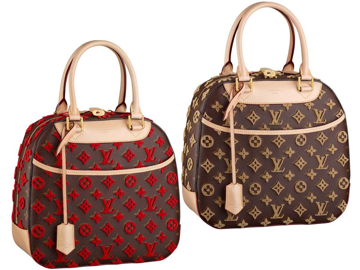 7665205fbb6 Louis Vuitton Monogram Canvas Tuffetage Deauville Cube   Louis ...