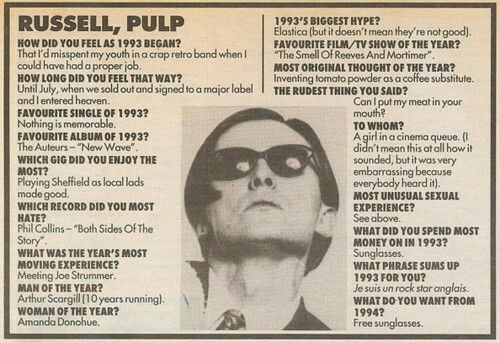 Russell, Pulp