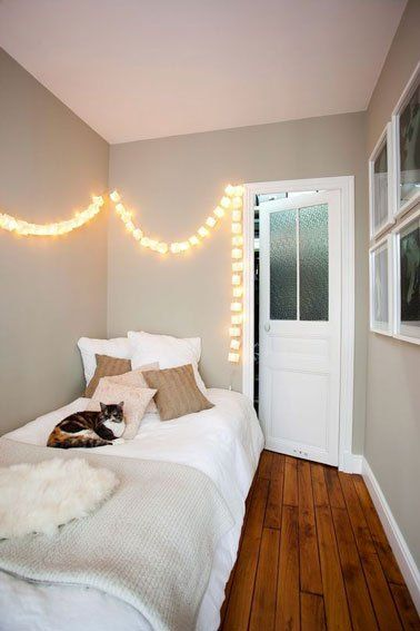 8 petites chambres la d co craquante deco chambre - Decoration interieur chambre adulte ...