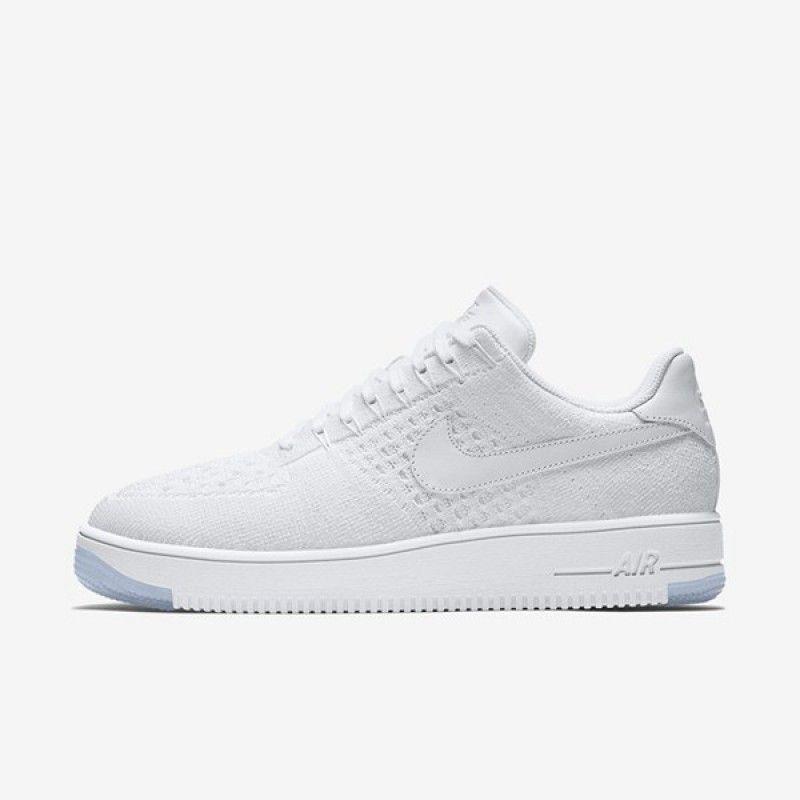 tenis nike air force 1 sage low piel blanco