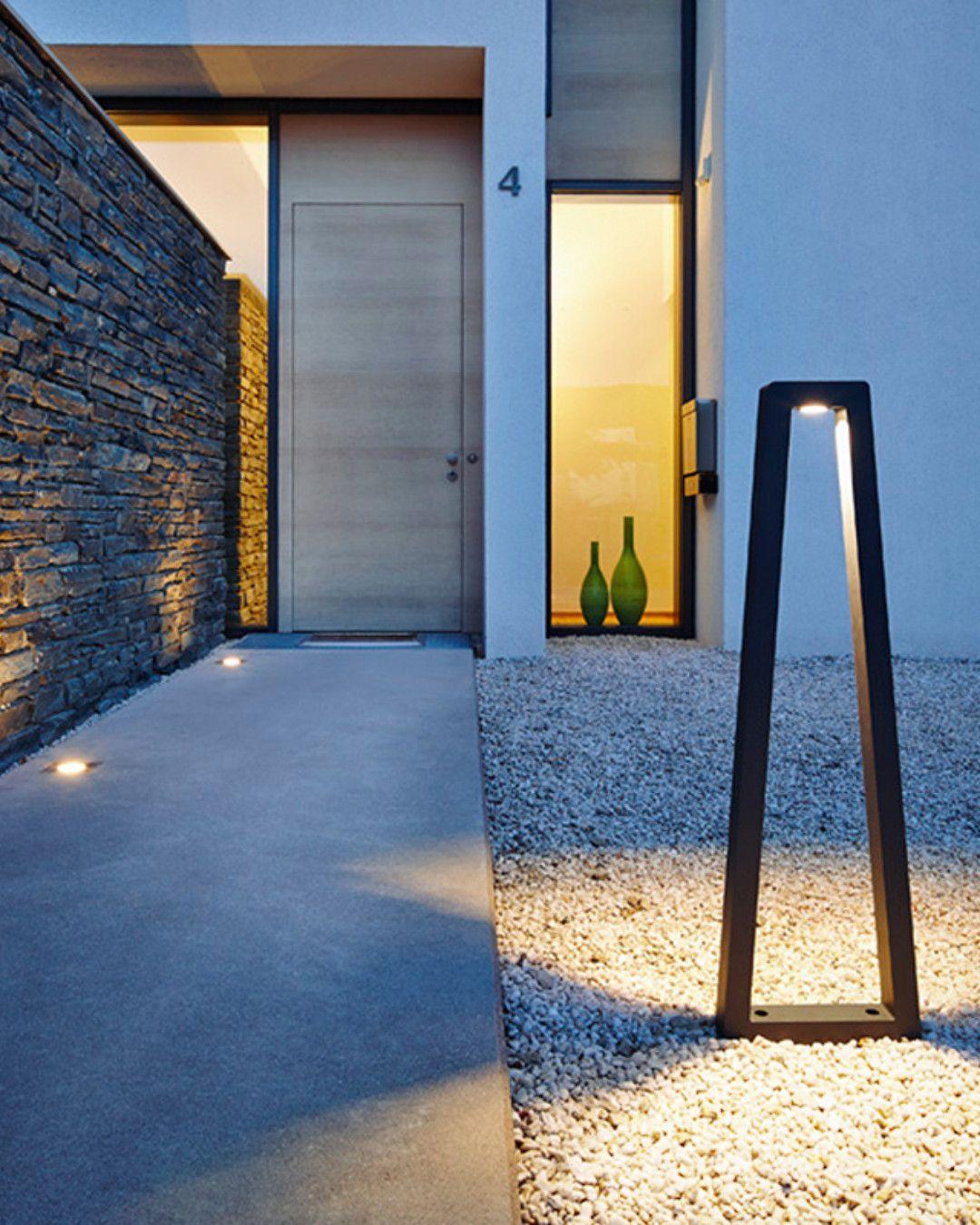 Slv Bookat Led Pollerleuchte 231855 Fassadenbeleuchtung Aussenbeleuchtung Haus Beleuchtung Garten