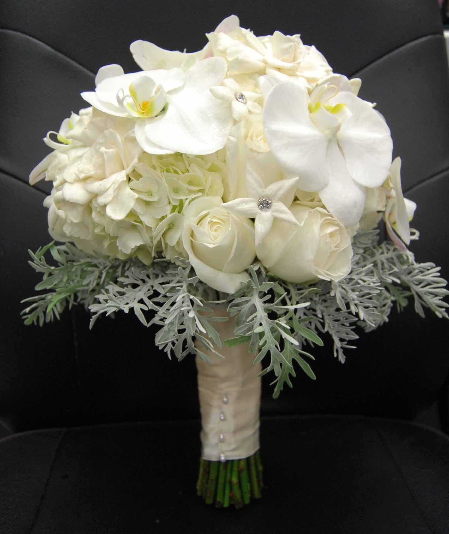 Whiteivory Bouquets Bouquets Tessfresh Flowers Fresh And Silk