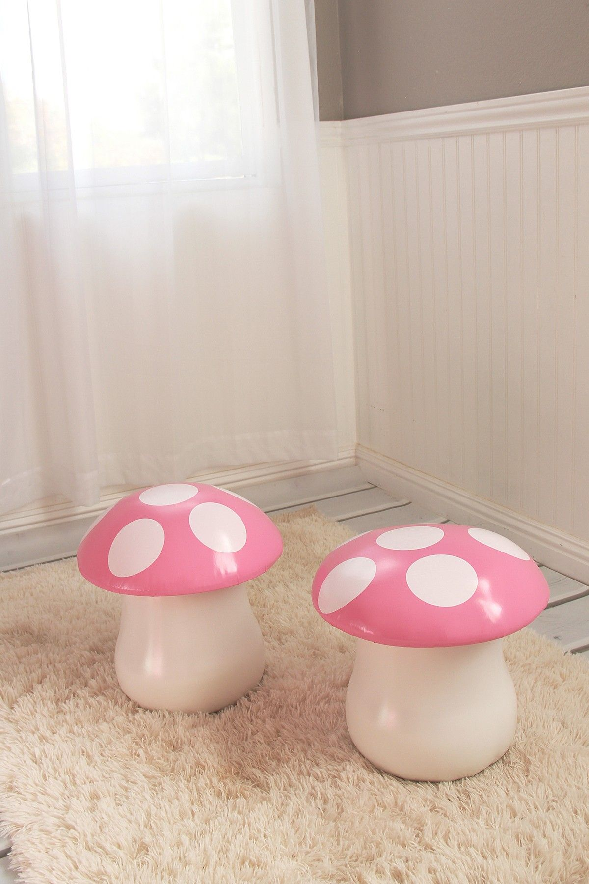 Mushroom Chairs - Set of 2 & Mushroom Chairs - Set of 2 | Mushroom chair Room and Kids rooms