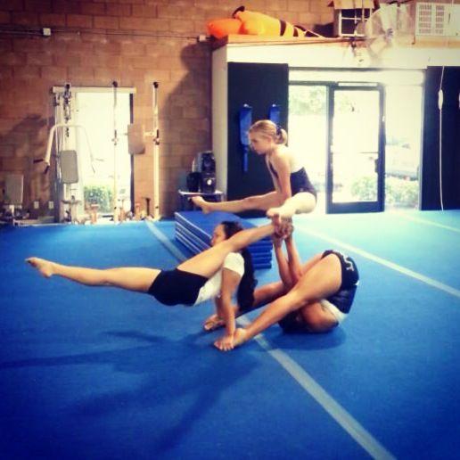 Acrobatic Gymnastics Emily Alexis Kate Body Pics Pinterest