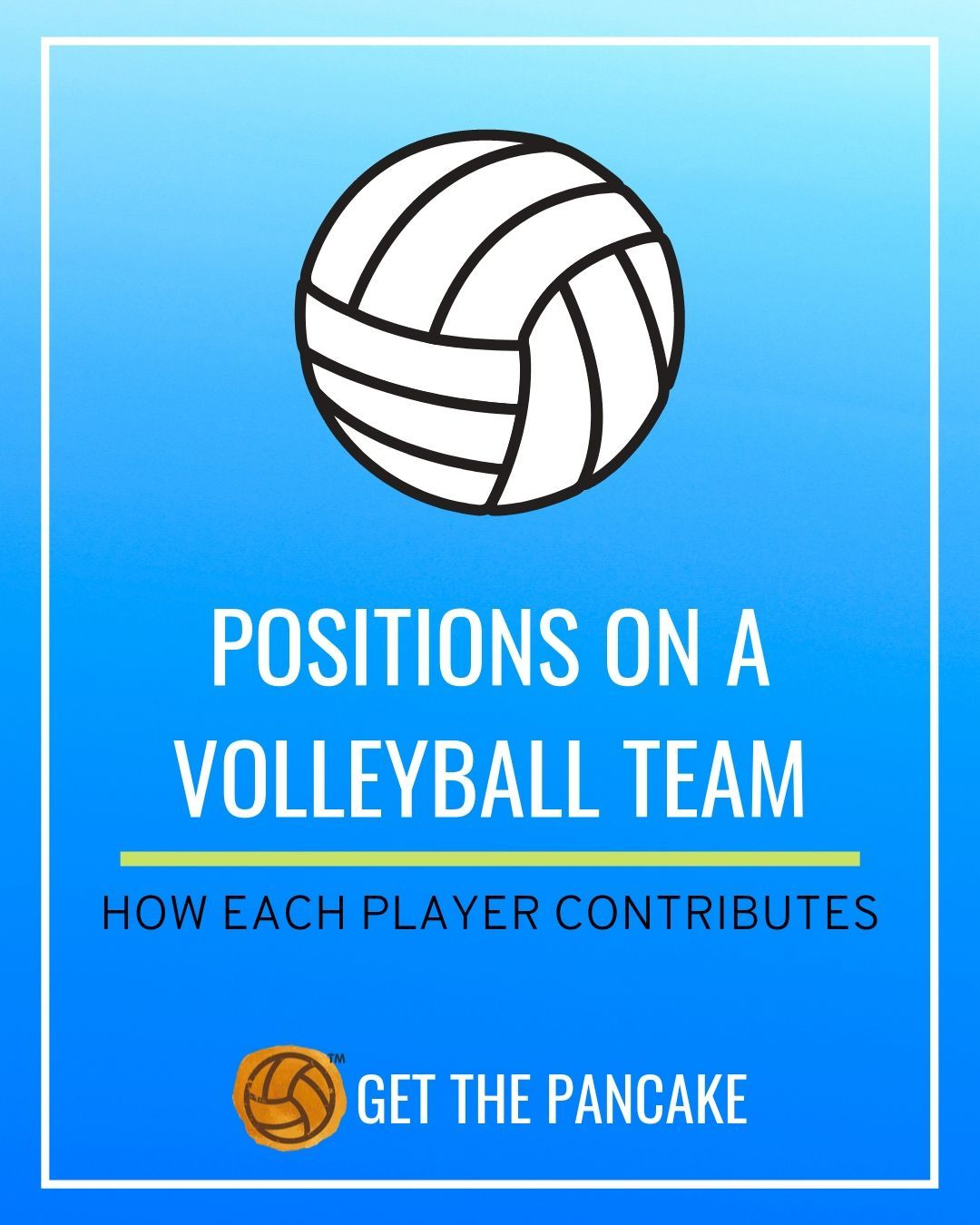 Positions On A Volleyball Team Volleyball Team Coaching Volleyball Volleyball Tryouts