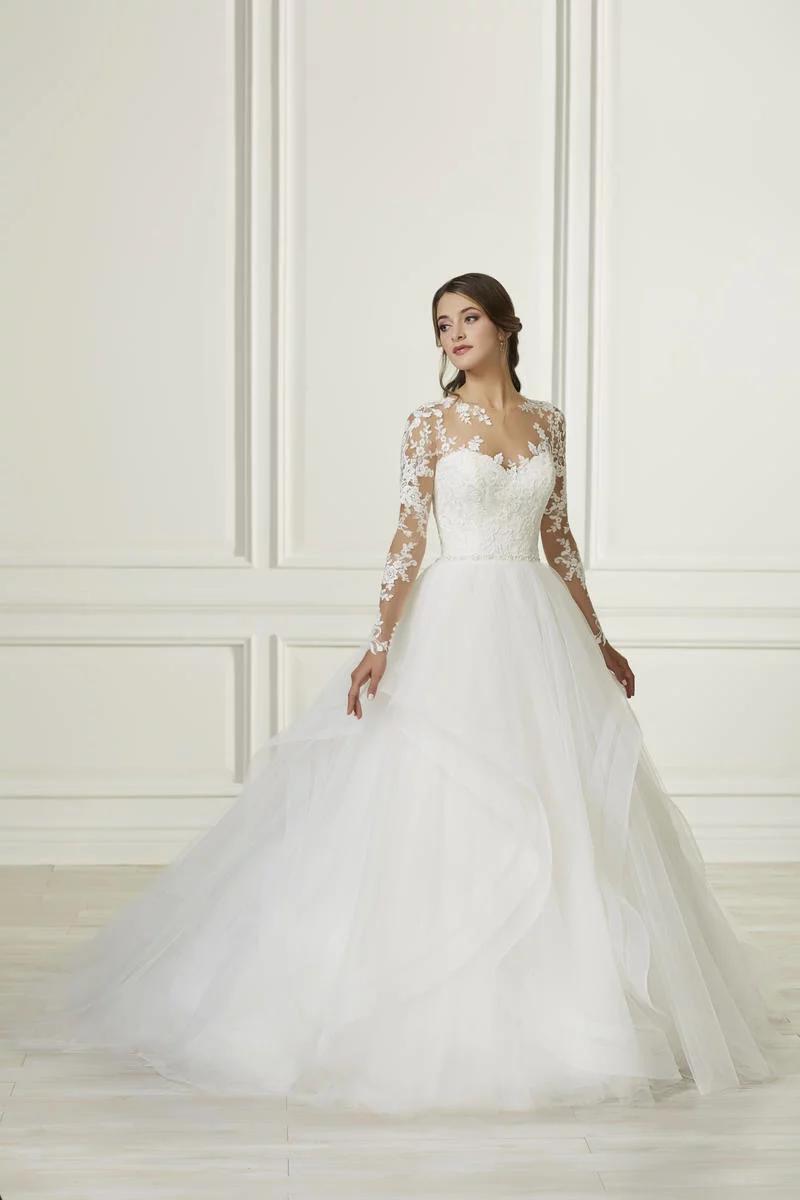 Adrianna Papell Platinum 31107 Ball Gowns Wedding Wedding Dresses Bridal Gowns